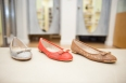 Ballerina Flats available in assorted styles and colours are found in the Shoe Boutique on the Reid Street Level.
